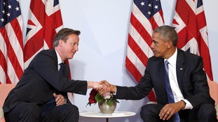 David Cameron and Barack Obama at the G7 Summit in Germany in 2015