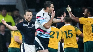 World Cup referee Joubert admits he made the wrong call in Scotland-Australia game