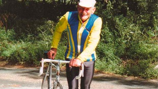 100-year-old cyclist takes to Tour de Yorkshire route