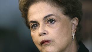 Brazil's beleaguered president Dilma Rousseff.