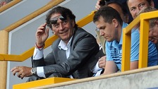 Leeds United owner Massimo Cellino at the side's game against Milwall