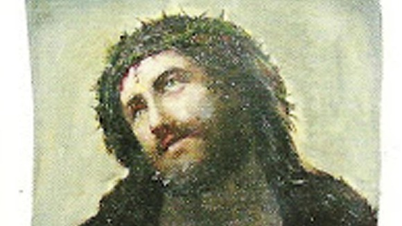 Ecce Homo - Behold the Man Fresco jesus Christ