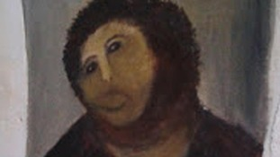 Ecce Homo - Behold the Man Fresco jesus Christ