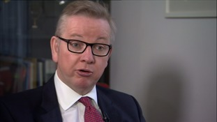 Michael Gove said £350 million a week is spent on the EU.