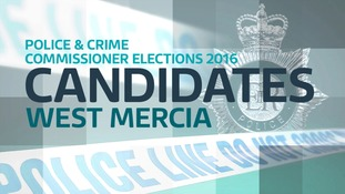 Full candidate list for West Mercia PCC elections.
