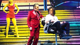 Chris Moyles and Ben Forster