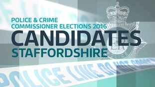 Full PCC candidate list for Staffordshire.