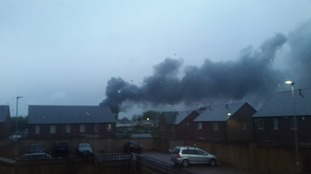 Five fire engines have been dispatched to the scene