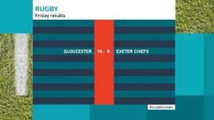 Exeter Chiefs lose to Gloucester
