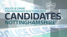 Full list of PCC Candidates for Nottinghamshire