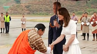 The Duke and Duchess of Cambridge spent three days in Bhutan.