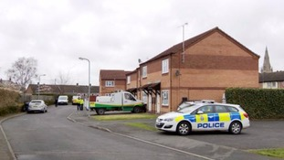 Two bodies were discovered at a house in Dawson Avenue yesterday