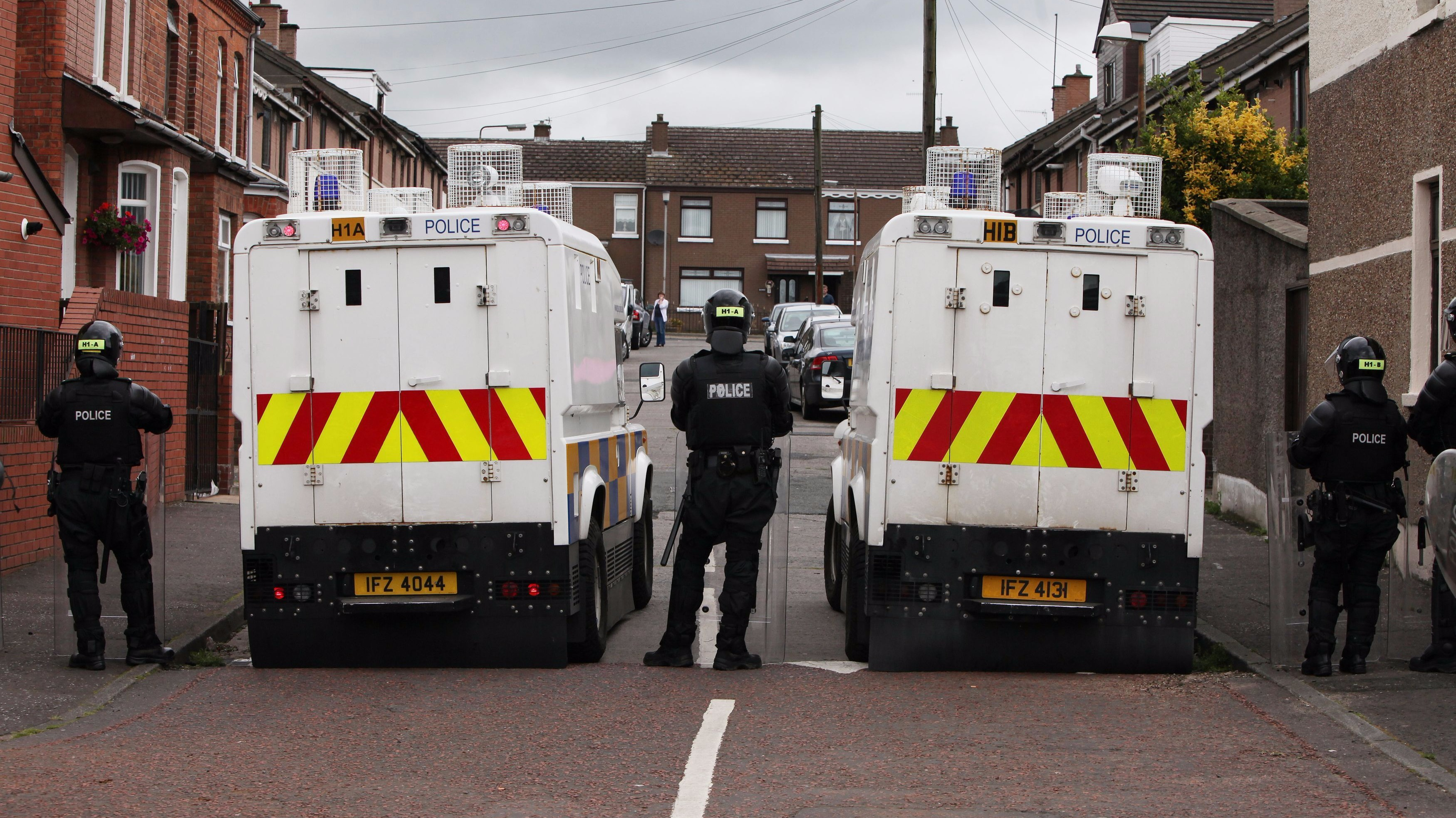 Man shot dead in Belfast in 'paramilitary-style' attack