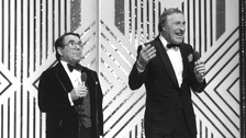 Ronnie Corbett and Sir Bruce Forsyth