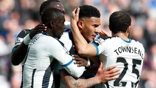 Premier League match report: Newcastle 3-0 Swansea