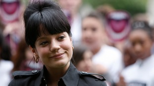 Lily Allen said she felt that she hit a 'brick wall' with police.