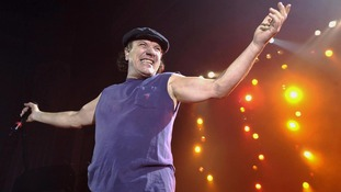 Brian Johnson, who fronts rock band AC/DC, has been told to stop performing or risk deafness