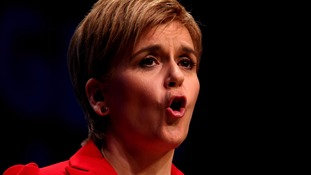 A new Scottish independence vote should be held if the UK votes to leave the EU, Nicola Sturgeon said.
