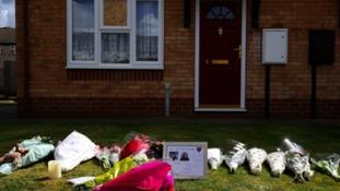 Photos from murder scene in Spalding