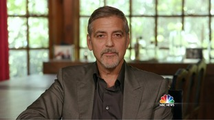 George Clooney admits money he has raised for Hillary Clinton campaign is 'obscene'