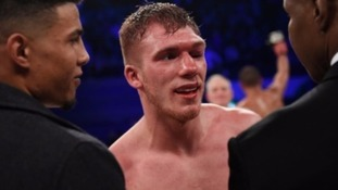 Nick Blackwell, after title defeat
