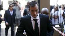 Pistorius was in court on Monday