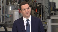Mr Osborne said the report was clear there were costs and benefits of being part of the EU