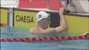Luke Greenbank at the British Swimming Championships