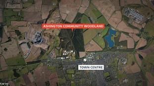 Map of Ashington