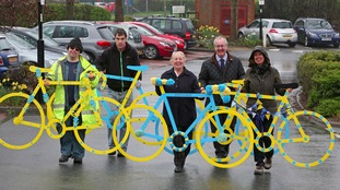 Bikes at the Civic Centre