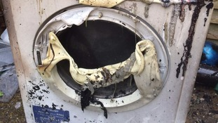 Customers 'not getting the full facts' about fire risks posed by Hotpoint tumble dryers, whistleblower tells ITV News