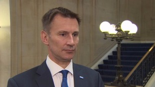 Jeremy Hunt insists new junior doctor contract will be imposed