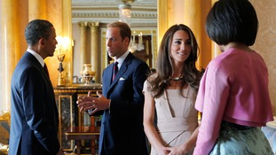 William and Kate to host the Obamas for dinner