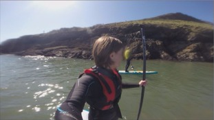 SUP at Worm's Head