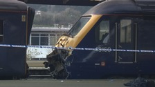 A signaller 'misjudged the space' at Plymouth Station leading to train crash, an initial report has found