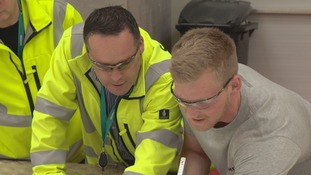 New Siemens' recruits training in Denmark