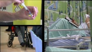 Hospital scenes