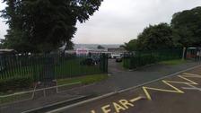 Google Street view of parkhead primary school