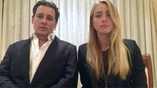 Johnny Depp and Amber Heard recorded an apology video.