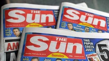 The Sun on Sunday wants to publish the celebrity's name