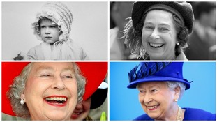 The Queen's birthdays through the years