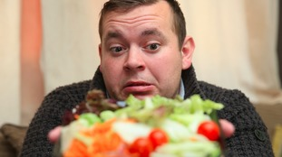 Daniel Pennock says he feels physically sick at the prospect of eating salad