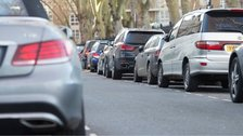 Drivers could face fines for parking on pavements.