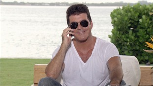 X Factor supremo Simon Cowell.
