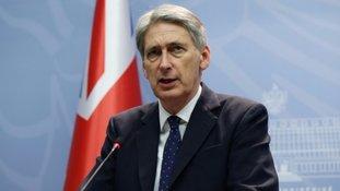 Foreign Secretery Philip Hammond.