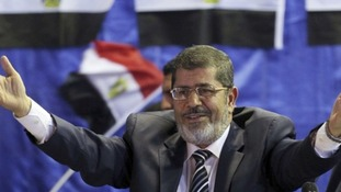 Mohammed Mursi will visit the United States later today.