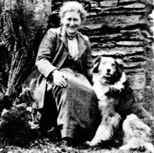 Children's author and illustrator Beatrix Potter