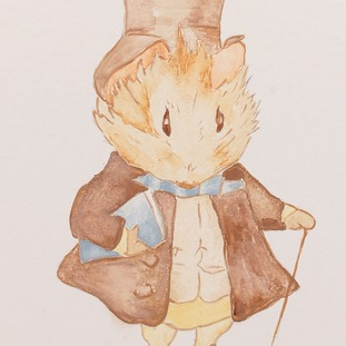 Characters from Beatrix Potter stories