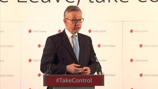 "Michael Gove claimed fishing was ""very close to my heart"""