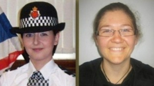 PCs Nicola Hughes and Fiona Bone.
